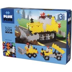"""Puzle 3D de 220 piezas """"vehículos de construcción 3 en 1"""""""