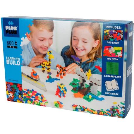 """Puzle 3D de 600 piezas """"Aprende a construir"""""""