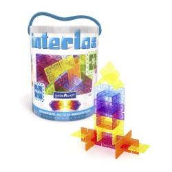 96 piezas cuadradas de construcción