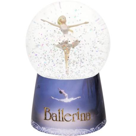 """Bola de nieve con música y luz """"Ballerina"""""""