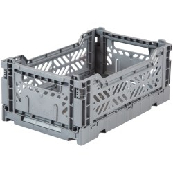 Caja plegable Mini Lillemor - Gris
