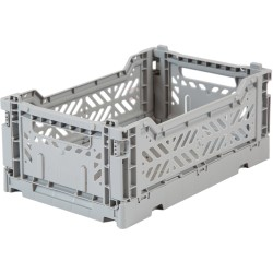 Caja plegable Mini - Gris claro